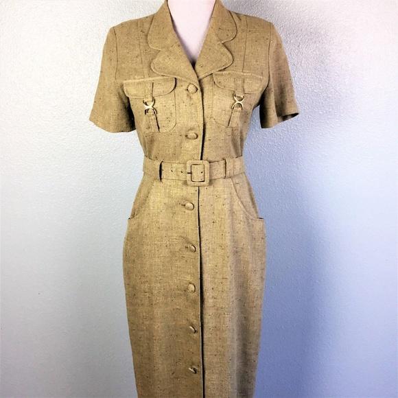 eee5b32bee02 Lori Weidner Dresses   Skirts - Farouche Lori Weidner Dress Tailored Size 8